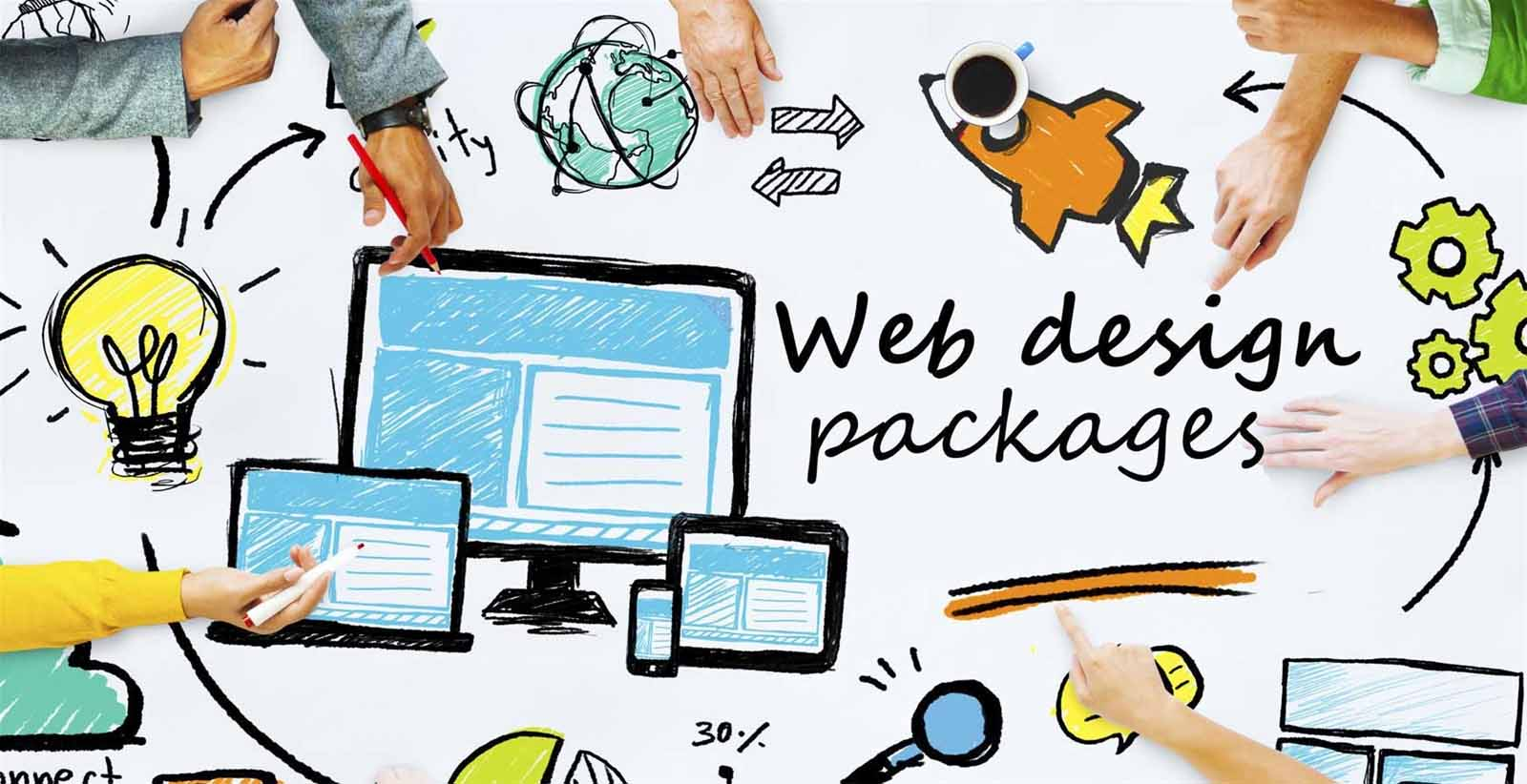 thiết kế website marketing